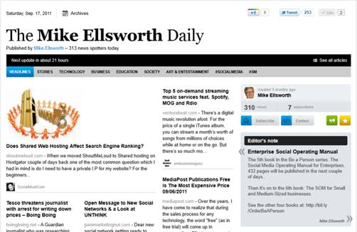 The Mike Ellsworth Daily